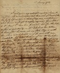 Lewis William Otto to Susan Kean, January 25, 1788