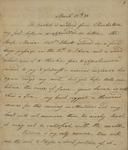 John Kean to Susan Kean, March 25-27, 1788