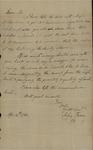 John Kean to William Stephens, April 4, 1788 by John Kean