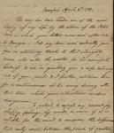 John Kean to Susan Kean, April 8, 1788 by John Kean