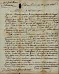 Bartholomew Corvaisier to John Kean, April 18, 1788