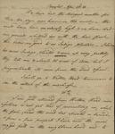 John Kean to Susan Kean, April 23-26 , 1788 by John Kean
