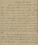 John Kean to Susan Kean, April 29- May 1, 1788 by John Kean