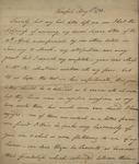 John Kean to Susan Kean, May 5, 1788
