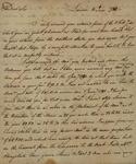 John Charles Lucena to John Kean, May 12, 1788