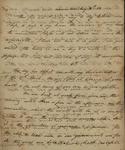 John Kean to Susan Kean, May 14-15, 1788 by John Kean