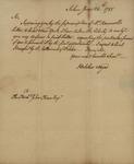 Belcher Noyes to John Kean, June 24, 1788