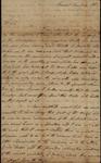 Robert Barnwell to John Kean, August 27, 1788 by Robert Barnwell