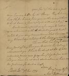 Andrew Fitzsimons to John Kean, January 7, 1789