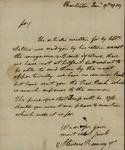 Steven Ramsay & Co. to John Kean, January 17, 1789