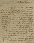 Alexander Chisolm to John Kean, Febraury 5, 1789 by Alexander Chisolm
