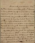 Daniel Huger to Susan Kean, February 10, 1789