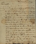Alexander Chisolm to John Kean, March 9, 1789 by Alexander Chisolm