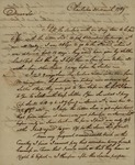 Alexander Chisolm to John Kean, March 31, 1789 by Alexander Chisolm