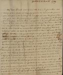 Margaret Livingston to John Kean, March 31, 1789