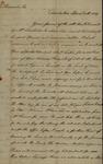 William Wilkie to John Kean, April 11, 1789 by William Wilkie