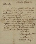 Alexander Chisolm to John Kean, April 29, 1789 by Alexander Chisolm