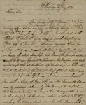 Alexander Chisolm to John Kean, May 6, 1789 by Alexander Chisolm