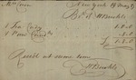 William Buckle to Susan Kean, May 19, 1789 by William Buckle