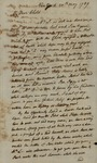 Peter Van Brugh Livingston to Susan Kean, May 20, 1789