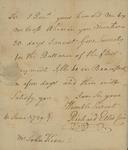 Richard Ellis to John Kean, June 6, 1789