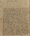 Beaumanoir de LaForest to Susan Kean, June 29, 1789 by Beaumanoir De LaForest