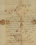 John B. Holmes to John Kean, August 7, 1789