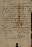 Philip Delegae to William Stephens, August 18, 1789 by Philip Delegae