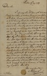 Alexander Chisolm to John Kean, August 19, 1789 by Alexander Chisolm