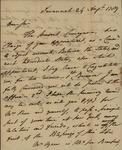William Stephens to John Kean, August 24, 1789