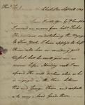 William Wilkie to John Kean, September 18, 1789