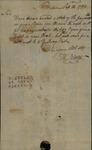 William Norton to John Kean, September 24, 1789
