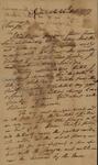 William Stephens to John Kean, October 26, 1789 by William Stephens