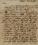 John Faucheraud Grimke to John Kean, December 19, 1789 by John Faucheraud Grimke