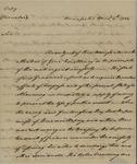 Thomas Mifflin to Unknown Person, April 4, 1784