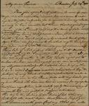 Benjamin Harrison to Alexander Donald, July 29, 1785 by Benjamin Harrison