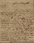 William Stephens to John Kean, October 2, 1785