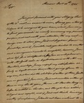 Peter Lyons to Unknown Person, December 10, 1785 by Peter Lyons