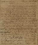 Benjamin Harrison to Alexander Donald, December 12, 1785 by Benjamin Harrison