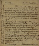 Theodorick Bland Randolph and Jack Randolph to their Mother and St. George Tucker, August 1, 1786
