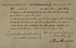 Benjamin Harrison for Alexander Donald to Donald and Burton, February 12, 1788 by Benjamin Harrison