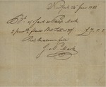 Receipt from Jacob Mark and Philip Mark, June 24, 1788 by Jacob Mark and Philip Mark