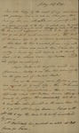 John Kean to Susan Kean, August 21, 1791