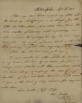John Kean to Susan Kean, September 23, 1793