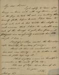John Kean to Susan Kean, September 16, 1793