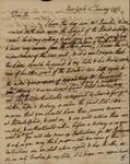 Philip Livingston to John Kean, January 15, 1793 by Philip Livingston