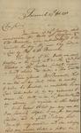 William Stephens to John Kean, February 27, 1793