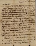 Philip Livingston to John Kean, March 1, 1793