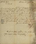 William Cooke to John Kean, January 23, 1790