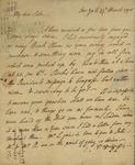 Philip Livingston to Susan Kean, March 27, 1790